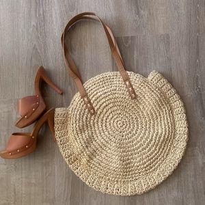 Handbags - NEW WOVEN ROUND BAG / STRAW PURSE